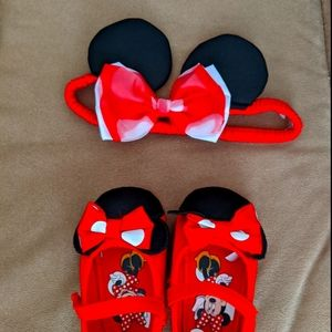 Minnie mouse costume accessories set
